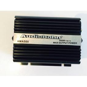 Amplificador Fuente Moto Carro Marca Audiobahn 500 Watts