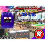 Shampoo Con Cera Carnauba 20 Litros Para Autos