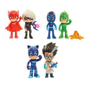 Pj Masks Pack X 2 Fig Int P24555 Heroes En Pijamas