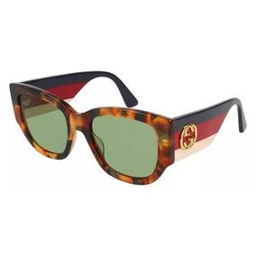 8124d519a3270 Óculos De Sol Feminino Gucci Quadrado Redondo Acetato. 3 vendidos - São  Paulo · Gucci Gg 0276s