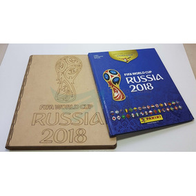 Caixa Para Álbum Copa 2018 Rússia Mdf Cru 3mm