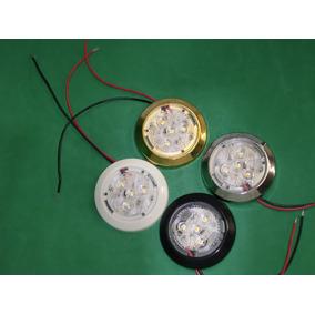 Luminária Utilitária Nautica 4 Leds/12 Volts/lanchas/barcos