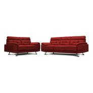 Sala De Tela Dublin Sofa Y Love Confortopiel Ms