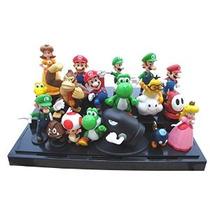 Sólo Colorido Modelo Super Mario Bros Figura De Juguete 18pc