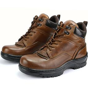 29d79d378 Bota De Couro Vaqueiro Botas - Sapatos no Mercado Livre Brasil