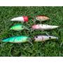 Kit De 6 Señuelos Surtidos Pesca Tararira. Liquidación.