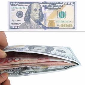 Cartera Billetera 100 Dolares Hombre / Mujer