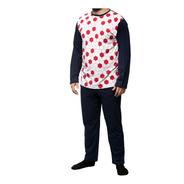 Pijama Hombre Wacky Invierno 100% Algodon Talle 40 Al 46