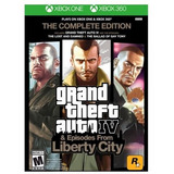 Grand Theft Auto Iv The Complete Edition Xbox 360 Xbox One