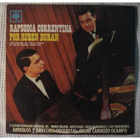 Rubén Durán - Rapsodia Correntina (cbs 8692)