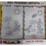 Telas De Pintura Meu Pequeno Artista Brincadeira De Criança
