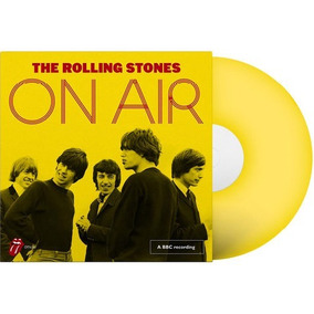 Lp The Rolling Stones On Air Vinil Amarelo Lacrado .