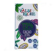 Chocolate Negro 75% Cacao Orgánico