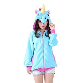 Pijama Kigurumi Jaqueta Adulto Unicórnio Sob Encomenda 45d