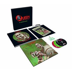 Queen - News Of The World (box Set - Vinilo + 3 Cd + Dvd)