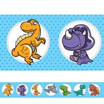 Adesivo Decorativo Faixa Para Quarto Infantil Dinossauro