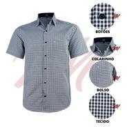 Camisa Masculina Com Bolso Tamanhos Big Lançamento Luxo 3003