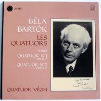 Bartok - Les Quatuors Cd Clasica Cuarteto Vegh Violin Op4