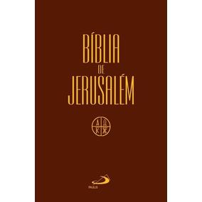Bíblia De Jerusalém Média Capa Cristal Original