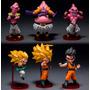 Set 6 Figuras Coleccionables Dragon Ball Z Envio Gratis