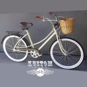 Bicicleta Feminina Retro Vintage - Caloi Ceci Monark Brisa