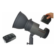 Flash Estudio A Bateria 300w Portatil + Radio Visico4