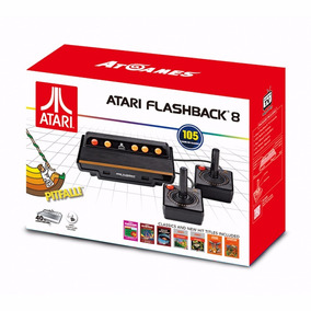 Video Game Console Atari Flashback 8 New Com 105 Jogos