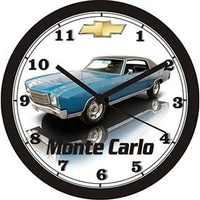1970 Chevrolet Monte Carlo Reloj De Pared