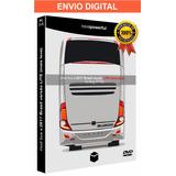 Simulador De Ônibus Brasileiro Mod C/ Rodoviárias - 18 Wos