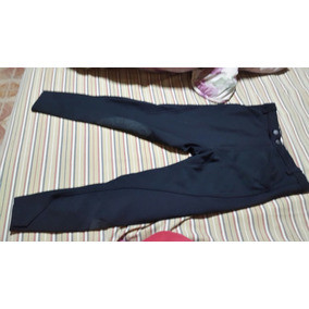 Pantalon De Equitacion Negro Talla 28