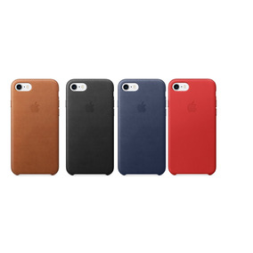 Funda Iphone 7 Y 7 Plus Leather Case Pu Apple Envio Gratis