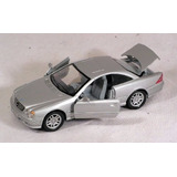 Mercedes Benz Cl600 Silver 1:24 Welly