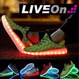 Tenis Luces Led Liveon! Colores Disponibles Envio Gratis