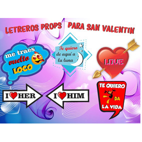 10 Letreros 14 Febrero San Valentin Eligelos Envio Gratis