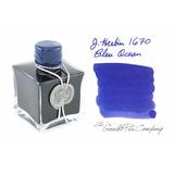 Tinta J.herbin 1670 Pluma Fuente - 50 Ml - Ocean Blue