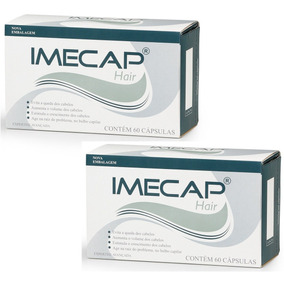 2 X Imecap Hair 60 Cápsulas Pantogar Luminus Vitaone