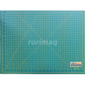 Base Placa De Corte Verde 60x45cm A2 Patchwork Scrapbook