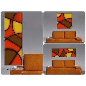 cuadro abstracto moderno para living comedor u oficina
