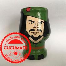 Mate Pintado A Mano * El Che Guevara * Cucumate