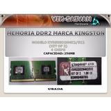 Memoria Ddr2 Kingston De 256mb Pc2-4200 533mhz 4 Chips 17