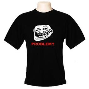 Camiseta Meme Troll Face - Frete Gratis
