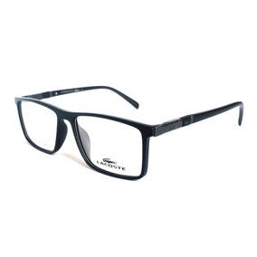 Armação P/ Oculos De Grau Acetato Lacoste Masculino