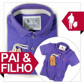 Camisa Camiseta Polo Conjunto Tal Pai Tal Filho Dia Dos Pais