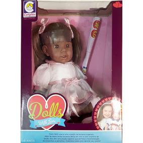 Boneca Dolls With Love Negra 2105 Cotiplás Original