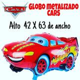 Globo Metalizado Cars Disney
