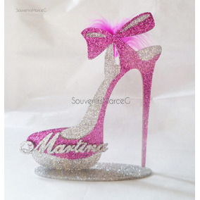 Zapato Centro De Mesa Gigante!! 35 Cm Personalizado