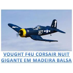 Planta Pdf Corsair Nuit F4u Escala Gigante Giant Em Balsa