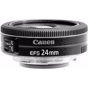Lente Canon Ef-s 24mm F2.8 Stm Envio Hoje Mesmo!