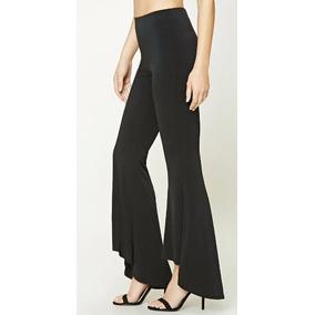 Pantalon Oxford Acampanados Cintura Alta Forever 21
