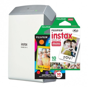 Impres Instax Share Wi-fi Sp-2 P/ Smartphone + 2 Filmes